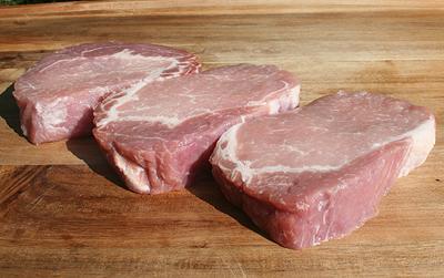 Pork Rib Eye Steak